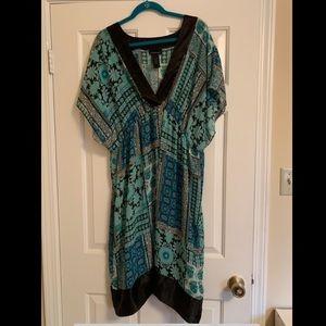 Lane Bryant Sheer Kimono Dress size 22/24